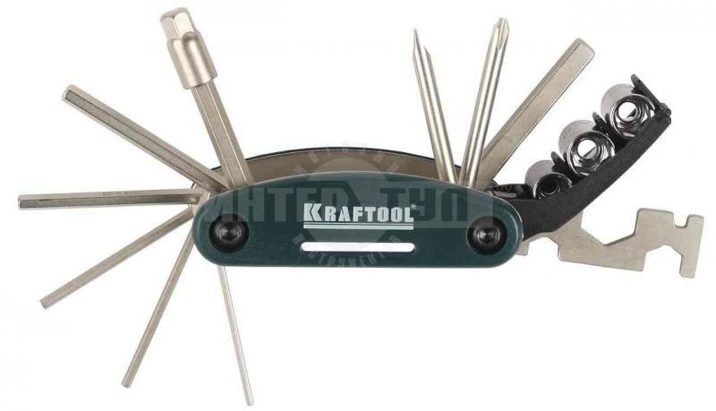 c7ec6499e6dc Набор инструментов д/велосипеда 16пр Kraftool купить в Хабаровске