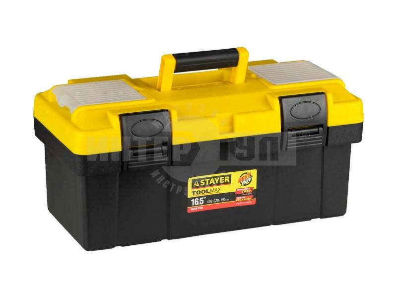 51ceb01f2cca Ящик Stayer Master пласт д/инструмента 420х220х195мм 16.5